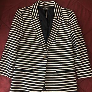 Striped Woman's Blazer